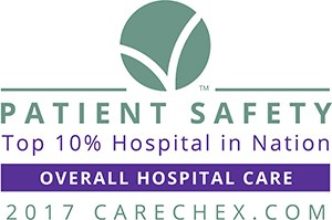Top 10% Hospital in Nation